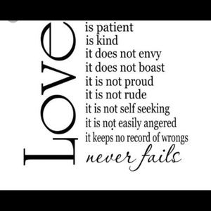 Love ❤️ is kind....